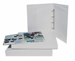 Bantex Insert Binder  A3 38mm 4D Ring White