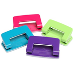 Marbig 2 Hole Punch Summer Assorted Colours